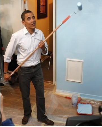 Faça igual ao Obama e mãos à obra!